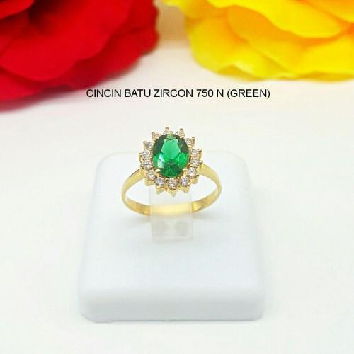 CINCIN BATU ZIRCON 750 N (GREEN)