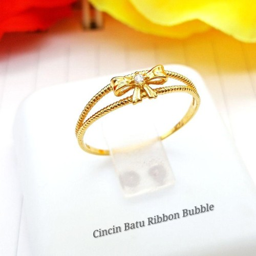 CINCIN BATU RIBBON BUBBLE